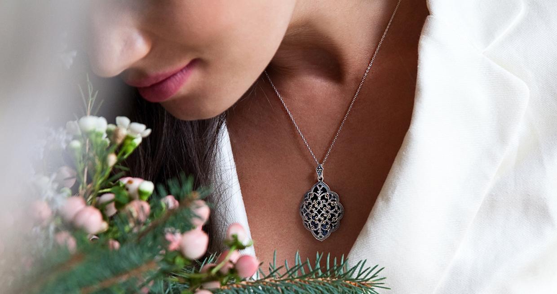 biżuteria ślubna komplet