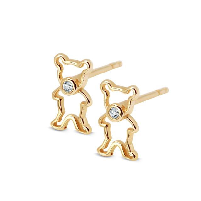 Zdjęcie Kolekcja Bambini złote kolczyki #1