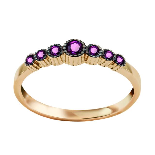 Zdjęcie Kolekcja Felicia złoty pierścionek #1