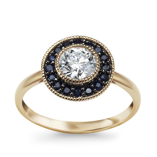 Zdjęcie Kolekcja Intenso złoty pierścionek #1