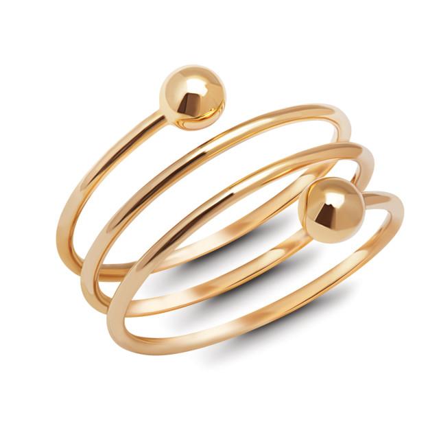 Zdjęcie Kolekcja Lea złoty pierścionek #1