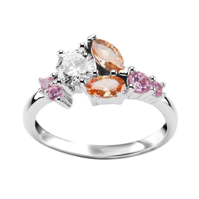 Zdjęcie Kolekcja Lucia srebrny pierścionek #1