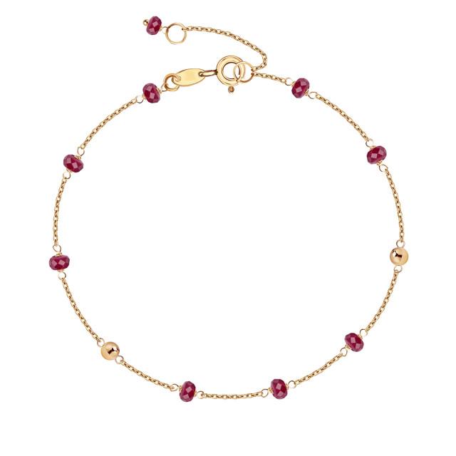 Zdjęcie Kolekcja Perline złota bransoletka #1