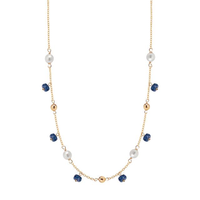 Zdjęcie Kolekcja Perline złoty naszyjnik #1