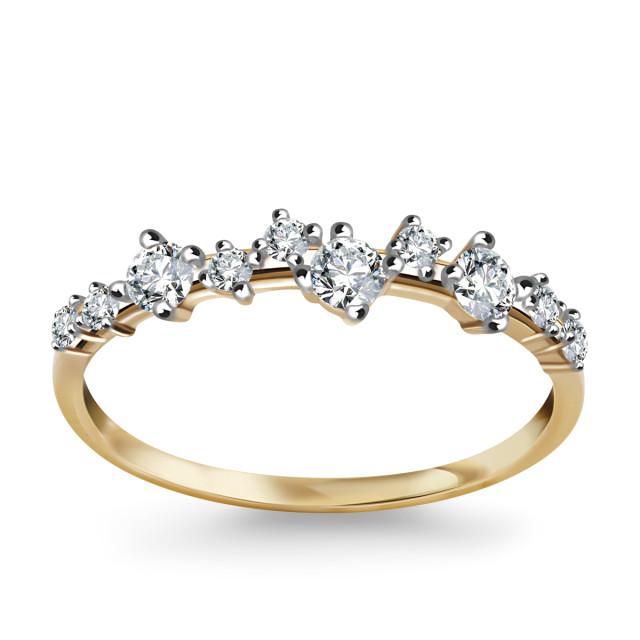 Zdjęcie Kolekcja Sole złoty pierścionek #1