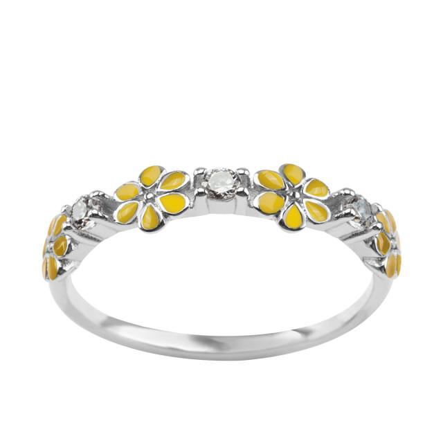 Zdjęcie Paradiso - srebrny pierścionek #1