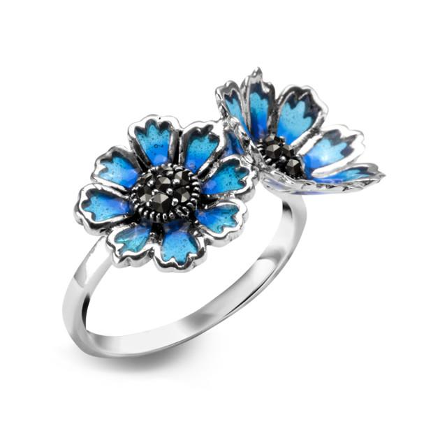 Zdjęcie Tajemniczy Ogród srebrny pierścionek #1