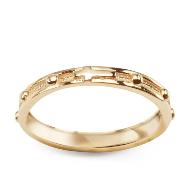 Zdjęcie Złoty pierścionek - różaniec #1