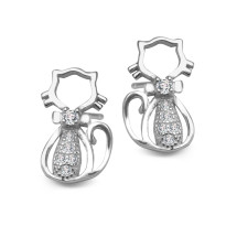 Zdjęcie Kolekcja Bambini srebrne kolczyki #19