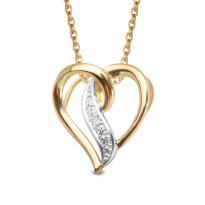 Zdjęcie Złota zawieszka z diamentem #37