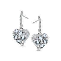 Kolekcja Chiara srebrne kolczyki