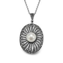 Kolekcja Perla srebrna zawieszka