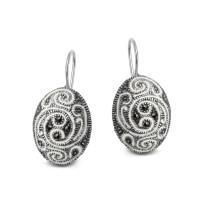 Kolekcja Cléo srebrne kolczyki