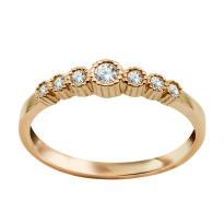 Zdjęcie Kolekcja Felicia złoty pierścionek #11