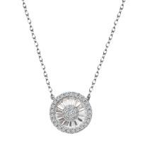 Zdjęcie Kolekcja Grazia srebrny naszyjnik z cyrkonią #26