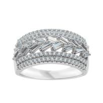 Kolekcja Grazia srebrny pierścionek z cyrkonią