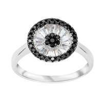 Zdjęcie Kolekcja Grazia srebrny pierścionek z cyrkonią #24