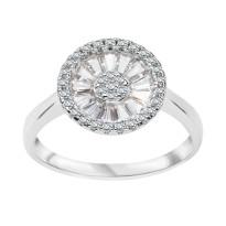 Zdjęcie Kolekcja Grazia srebrny pierścionek z cyrkonią #16