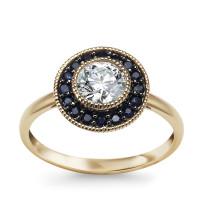 Zdjęcie Kolekcja Intenso złoty pierścionek #8