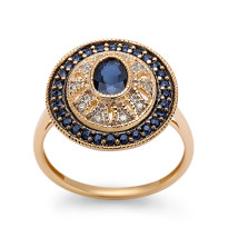 Zdjęcie Kolekcja Intenso złoty pierścionek #5