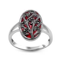 Zdjęcie Kolekcja Karmin srebrny pierścionek #34