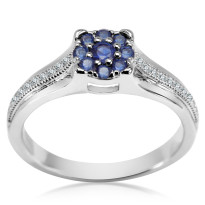 Zdjęcie Kolekcja Laura srebrny pierścionek #16