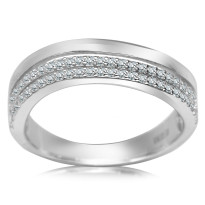 Zdjęcie Kolekcja Laura srebrny pierścionek #8