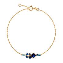 Zdjęcie Kolekcja Lucia złota bransoletka z cyrkonią #6