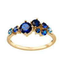 Kolekcja Lucia złoty pierścionek z cyrkonią