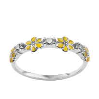 Zdjęcie Kolekcja Paradiso srebrny pierścionek #38