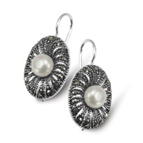Kolekcja Perla srebrne kolczyki