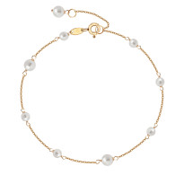 Zdjęcie Kolekcja Perline złota bransoletka #5