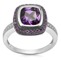 Zdjęcie Kolekcja Roma srebrny pierścionek #11