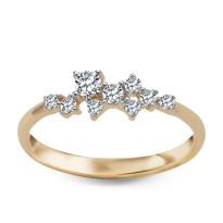 Zdjęcie Kolekcja Sole złoty pierścionek #46