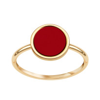 Zdjęcie Kolekcja Tesoro złoty pierścionek #1