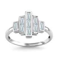 Zdjęcie Kolekcja Veronica srebrny pierścionek #7
