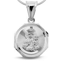 Zdjęcie Srebrna zawieszka - medalik #35