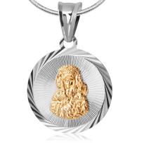 Zdjęcie Srebrna zawieszka - medalik #48