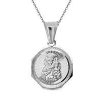 Zdjęcie Srebrna zawieszka - medalik #45