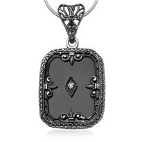 Zdjęcie Srebrna zawieszka z diamentem #20