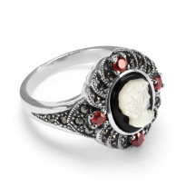 Zdjęcie Srebrny pierścionek #29