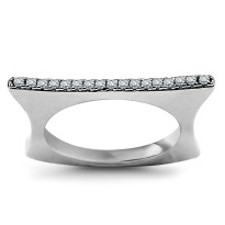 Zdjęcie Srebrny pierścionek #37
