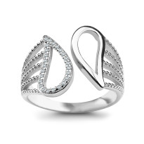Zdjęcie Srebrny pierścionek #28
