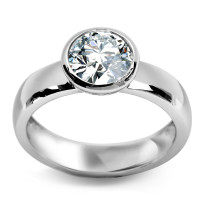 Zdjęcie Srebrny pierścionek #20