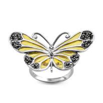 Zdjęcie Tajemniczy Ogród srebrny pierścionek #26