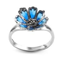 Zdjęcie Tajemniczy Ogród srebrny pierścionek #25