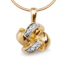 Zdjęcie Złota zawieszka z diamentami #3