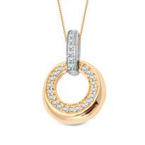 Zdjęcie Złota zawieszka z diamentami #21