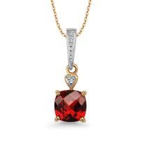 Zdjęcie Złota zawieszka z diamentami #23