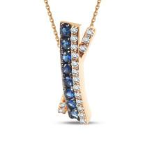 Zdjęcie Złota zawieszka z diamentami #34